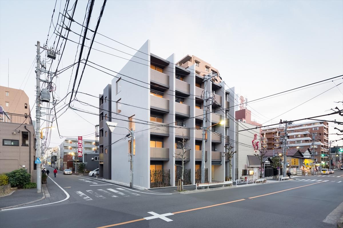 江東橋の集合住宅(GALICIA KINSHICHO Ⅱ)